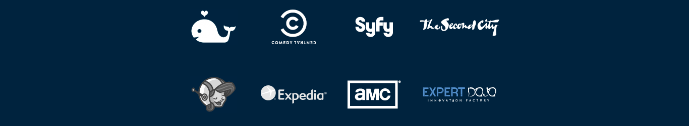 Swelly Yala Comedy Central AMC Expedia The Second City SyFy Expert Dojo