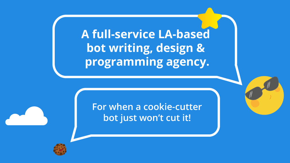full service bot writing design and programming agency